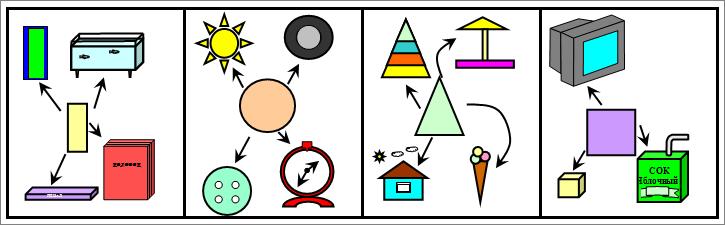 карточек-символов.