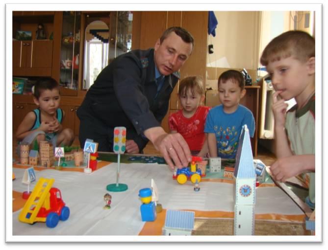 Игры в уголке пдд в детском саду