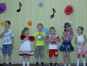 Конспект интегрированного музыкального занятия
