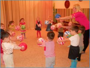 Игровое физкультурное занятие в средней группе