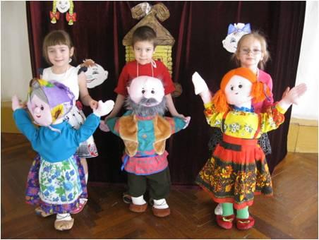 Кукольный театр в детском саду | Волшебный Сад Детства
