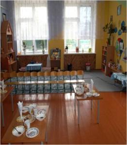 завтрак в детском саду