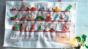 Подарок для ребенка: адвент-календарь